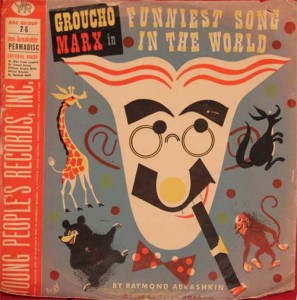 The Funniest Song in the World - Groucho Marx