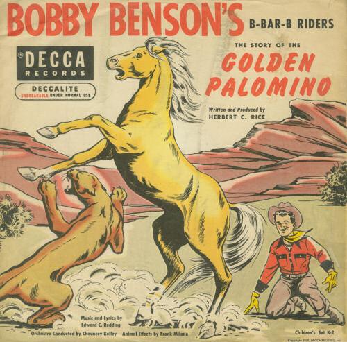 Bobby Benson's Golden Palomino