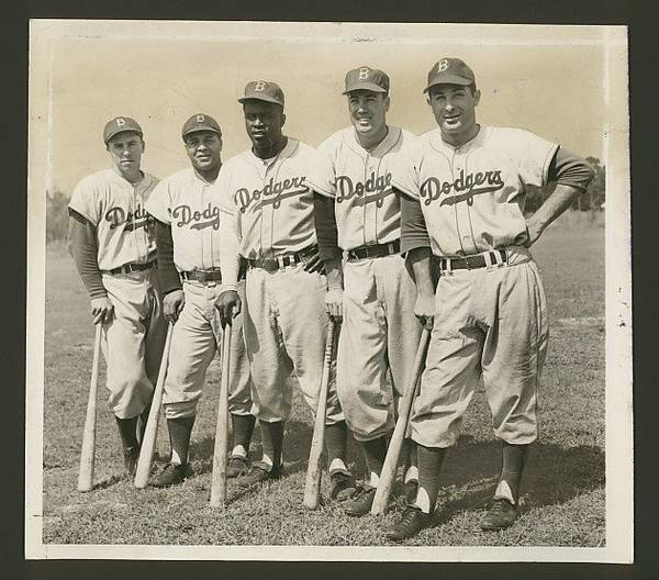 Brooklyn Dodgers, circa 1950