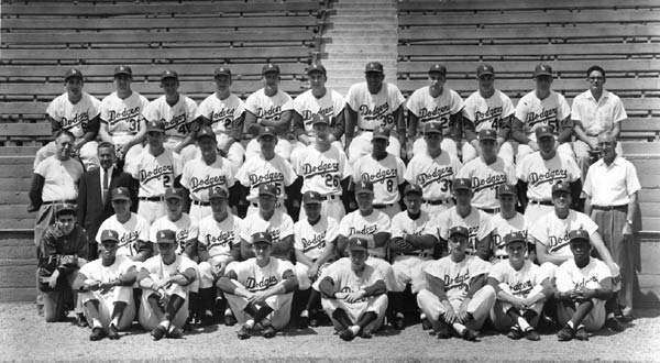 Los Angeles Dodgers, circa 1958