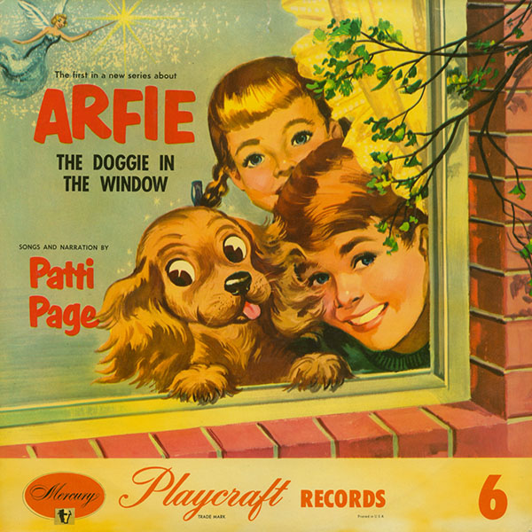 Arfie, the Doggie in the Window