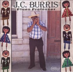 J.C. Burris, Blues Professor