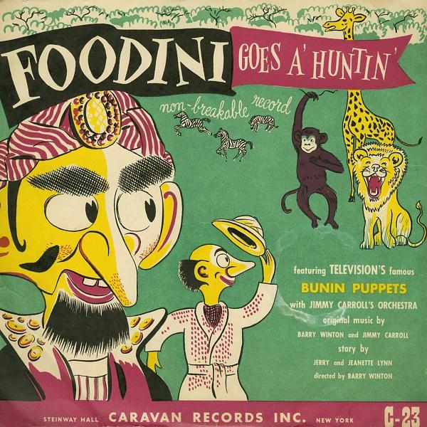 Foodini Goes A' Hunting